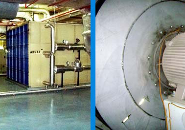 7. Maintenance of AHU and AHU Fan Motor.
